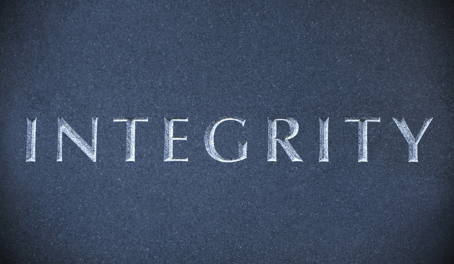Do you have Integrity?
